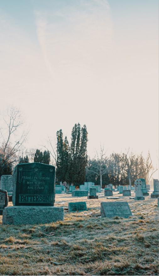 Etter begravelse